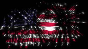 election day fireworks celebrate president of united states of