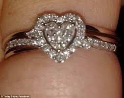 cute engagements rings images Brides show off 39 cheap 39 engagement rings on social media daily jpg