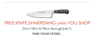 sur la table knife sharpening free sur la table buy two get one free stock up on time saving kitchen