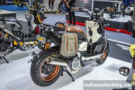 zoomer bentley honda zoomer x by sry shop rear quarter at 2016 bims indian