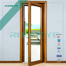 Aluminum Clad Exterior Doors Inward Opening Aluminum Clad Wood Doors Made In Roomeye Buy