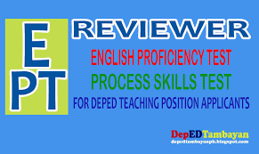 reading comprehension test ncae reviewer for test of english proficiency for teacher applicants