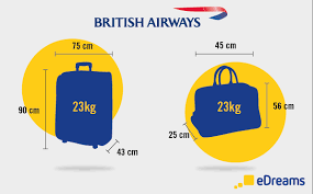 united check in luggage cabin luggage and checked bags on british airways flights