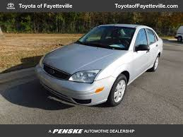 ford focus recalls 2007 2007 used ford focus 4dr sedan se at toyota of fayetteville