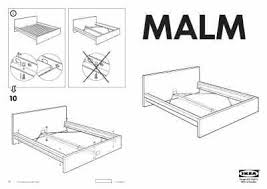 ikea malm bed frame full double furniture download user guide for