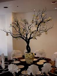 tree branches decor chic rustic wedding ideas with tree branches tulle decor