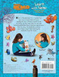 Finding Nemo Story Book For Children Read Aloud Disney Pixar Learn With Nemo Storybook With Wondertube