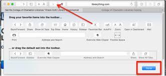 Cofc Map Safari Installation Cofc Libraries Button Libguides At College