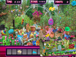 spring garden family restaurant hidden objects easter spring garden object game android apps