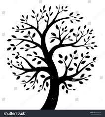 royalty free black tree icon vector logo 125566253 stock photo