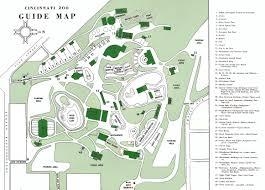 Map Cincinnati Cincinnati Zoo Map Best Image Konpax 2017