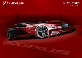 lexus singapore career sketch lexus sc on behance