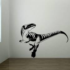 popular dino wall stickers buy cheap dino wall stickers lots from large dinosaur dino childrens bedroom wall mural giant art sticker decal vinyl diy wall sticker 3