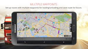 gps navigation apk sygic truck gps navigation android apps on play