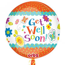 get balloons delivered get well balloon delivery lasting orbz get well balloons