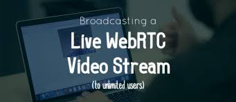 Live Video Streaming Chat Rooms by Webrtc Live Stream Broadcasting From One To Many Pubnub