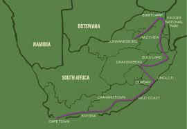 Drakensberg Mountains Map Drifters Adventure Tours Rundreisen In Afrika