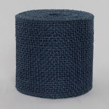 wholesale burlap ribbon 2 inch navy blue colored burlap ribbon wholesale burlap ribbon