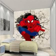 Spiderman Wallpaper For Bedroom Spiderman Bedroom Spiderman Decorations For Bedroom Rooms To Go