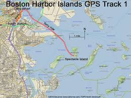Map Of Boston Harbor by Directions To Boston Harbor Islands