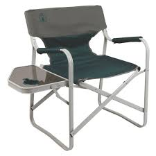folding camp chair with side table outdoor patio tables ideas