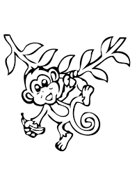 coloring for kids monkey coloring sheets new at model online