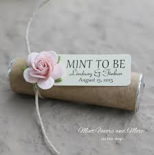 mint to be favors blush pink and chagne wedding favors mint to be mint favors
