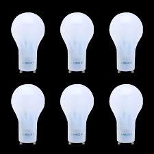 viribright 40 watt replacement led light bulbs 6 pack gu24 base