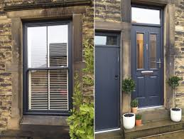 pvc sash windows and doors in anthracite grey ral 7016