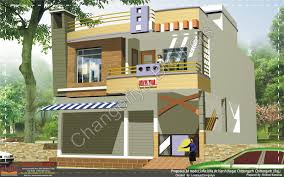 Home Design Rajasthani Style by Sukha Sagar Model Elevation Indian Architect Home Plans