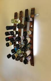 fun rooms unique wine rack design cool wall mounted wood wine