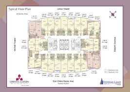 floor plan one lilac place at oriental garden makati