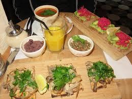 cuisine au chagne 102 light lunch at the le quotidien bruges the bruges vegan