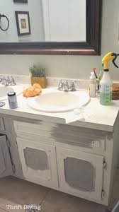 Painted Bathroom Vanity Ideas Bathroom Design Uniquepainting Bathroom Cabinets Gallery Of