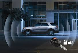 vehicle security system alarm the official site for ford