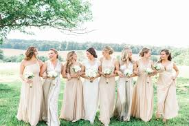 find the perfect bridesmaid dresses based on your body type