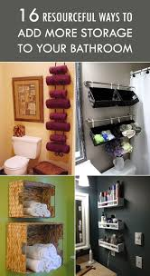 Ways To Decorate A Small Bathroom - best 25 bathroom hacks ideas on pinterest hacks life hacks