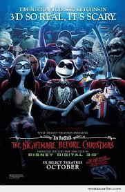 Nightmare Before Christmas Meme - nightmare before christmas in 3d by ben meme center