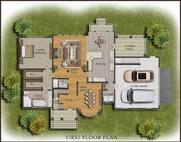 stunning inspiration ideas 1 house floor plans with color 2d