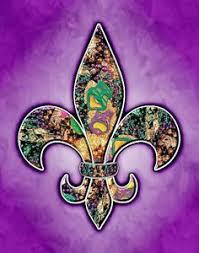 purple mardi gras mardi gras fleur de lis sports mardi gras and