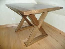 bureau bois foncé meuble en bois concept création