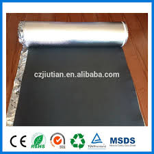 factory supply waterproof laminate flooring foam with aluminum