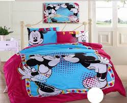 Mickey Mouse Bed Sets Mickey Mouse And Minnie Comforter Cover And Sheet Disney Bedding Sets