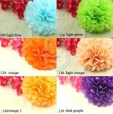 craft tissue paper wholesale inch tissue paper flowers pom poms