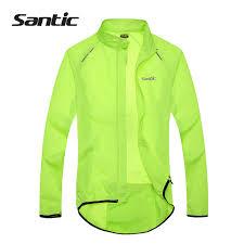 mtb rain jacket santic men cycling jacket upf30 mtb bicycle bike rain jacket
