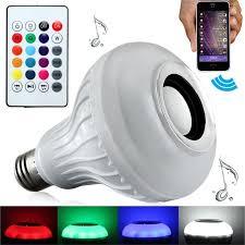 led light bulb speaker smart bluetooth led light bulb speaker strawberry and co