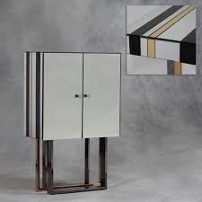 Gold Bar Cabinet Black Gold And Clear Deco Bar Cabinet Chic Concept