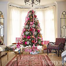 traditional home christmas decorating pretty christmas trees traditional home