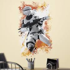 star wars 7 the force awakens flametrooper peel and stick wall star wars 7 the force awakens flametrooper peel and stick wall decal