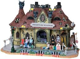 Spooky Village Halloween Decorations by 14 Best Miniature Lemax Images On Pinterest Christmas Villages